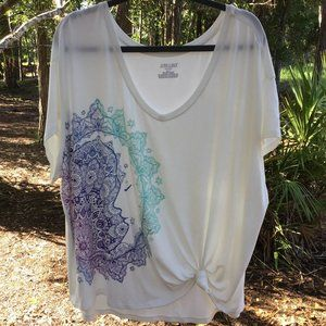 Jasmine & Ginger Woman-Lounge Top Size 2X, NWT